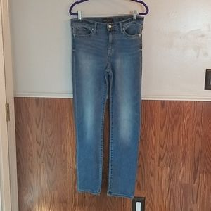 Luck Brand brooke straight jean, size 10